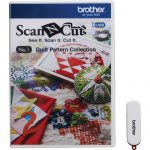 Brother ScanNCut Quilt Pattern Collection (CAUSB1)()