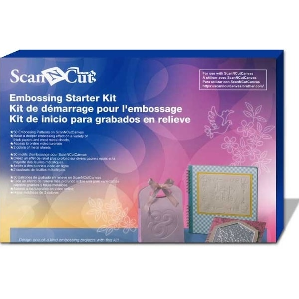 Brother ScanNCut Embossing Starter Kit (CAEBSKIT1)