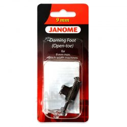Janome 9mm Open Toe Darning Foot