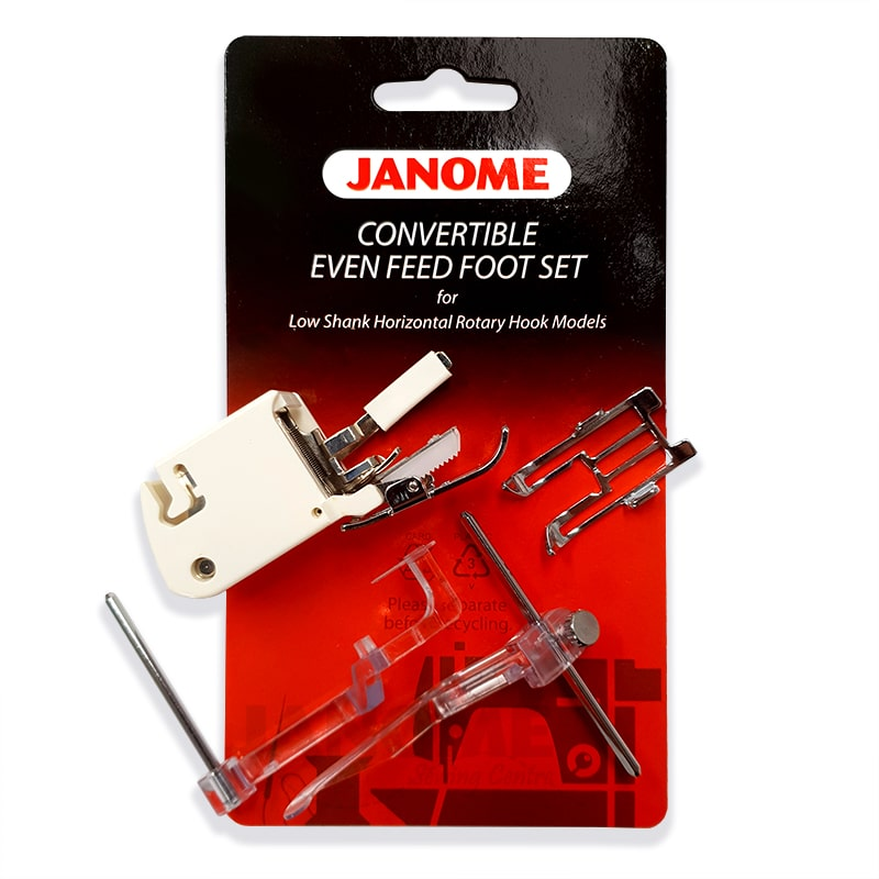 Janome Convertible Even Feed Foot Set
