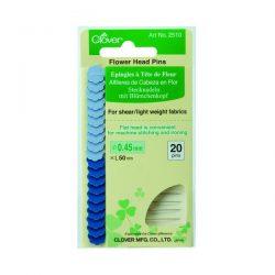 Clover Flower Head Pin Fine