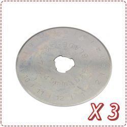 45mm Replacement Blades (Set of 3)