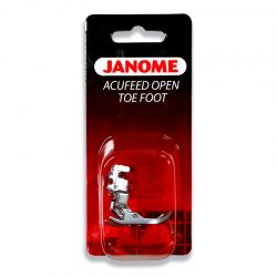 Janome Open Toe Acufeed Foot (7mm)