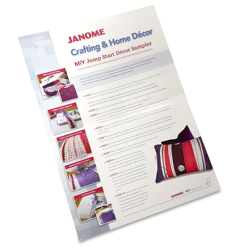 Janome Crafting & Home Décor Accessory Kit Starter Project