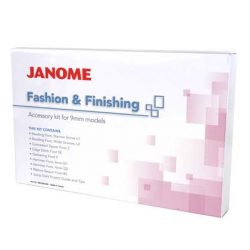 Janome 9mm Fashion & Finishing Kit