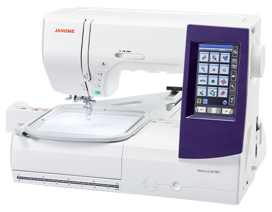 Janoem MC9850 Sewing and Embrodiery Machine