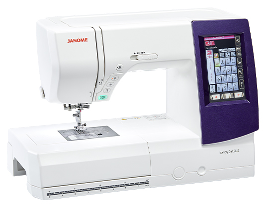 Janome MC9850 Sewing and Embroidery Machine