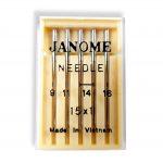 Janome Mixed Sharp Needles