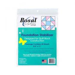 "Bosal Foundation Stabilizer 8.5"" X 11"""