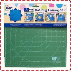 Birch Rotating Cutting Mat (30cm x 30cm)