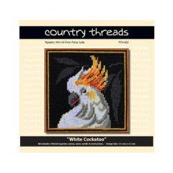 Country Threads Tapestry Kit- White Cockatoo