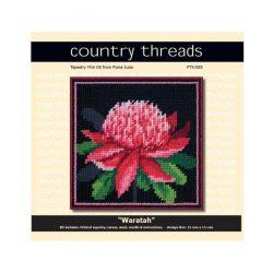 Country Threads Tapestry Kit- Waratah