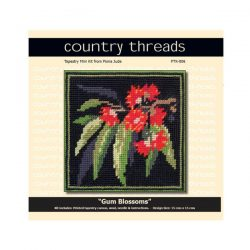 Country Threads Tapestry Kit- Gum Blossoms