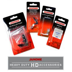 Janome HD Leather Piercing Accessory Kit
