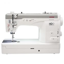 Front view of the Janome HD9 Professional Quilting Machine