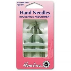 Hemline Assorted Household Hand Needles