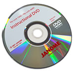 Instuctional DVD for the Janome 744D