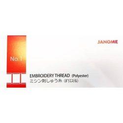 Janome Embroidery Thread Set - Box 1