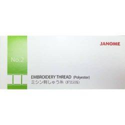 Janome Embroidery Thread Set - Box 2