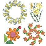 Janome Free Embroidery Designs for January 2021