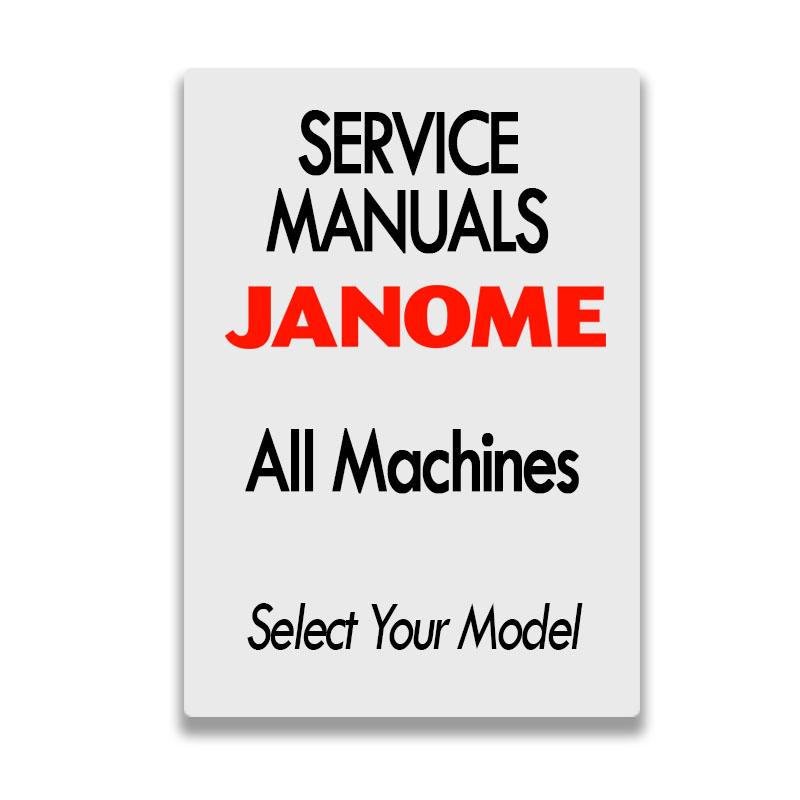 Service Manual PDF - Janome Machines on