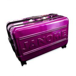 Janome Large Purple Trolley Bag