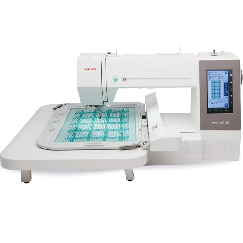 Janome MC550E Embroidery Machine