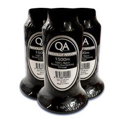 QA Woolly Nylon (Black)