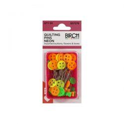 Pins Quilting Neon Plastic Box