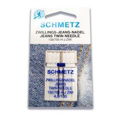 Schmetz Jeans Denim Twin Needles 4.0mm