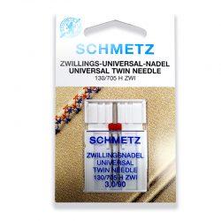 Schmetz Universal Twin Needles 3.0mm