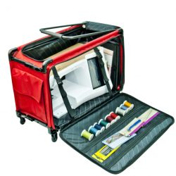 Tutto Red Trolley Bag