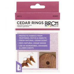 Cedar Rings 6Pcs