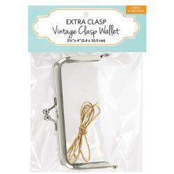 Vintage Clasp Wallet Extra Clasp